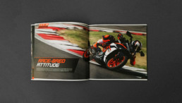 ktm booklet inlay