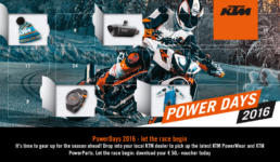 ktm power days ad